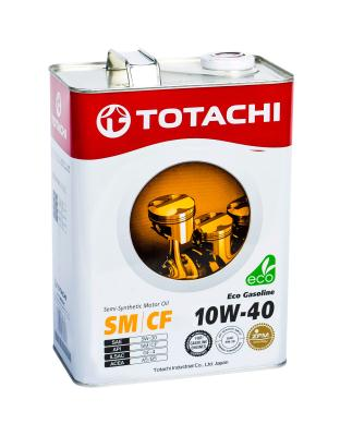Totachi Eco Gasoline Semi-Synthetic SM/CF 10W-40, 4л .